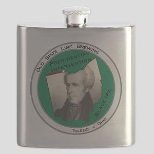 Presidential Intervention Black IPA Flask