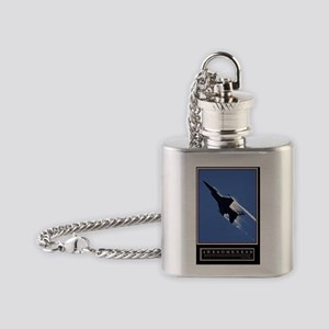 Awesomeness Poster HIMYM Flask Necklace