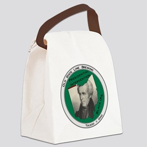 Presidential Intervention Black I Canvas Lunch Bag