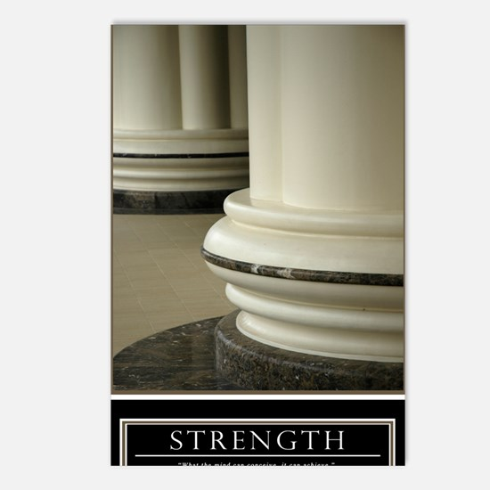 Large Strength Motivation Postcards (Package of 8)