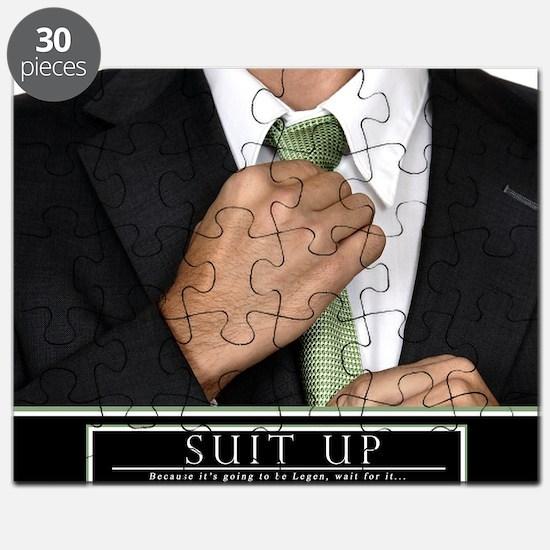 Large Horizontal Suit Up Poster HIMYM Puzzle