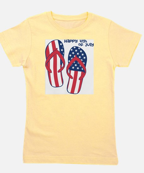 NEW - Flip Flop 4th Girl's Tee