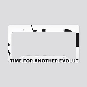 evolution piano License Plate Holder