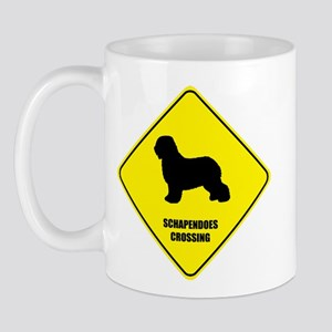 Schapendoes Crossing Mug