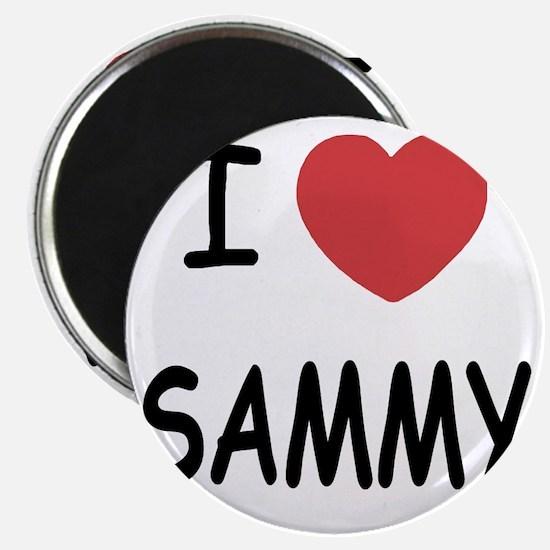 I heart SAMMY Magnet