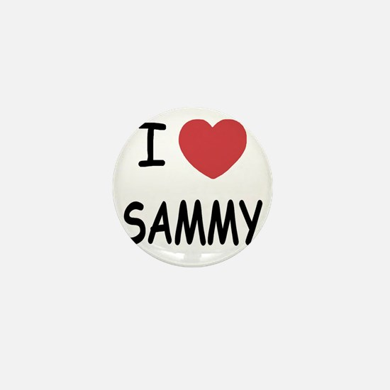 I heart SAMMY Mini Button