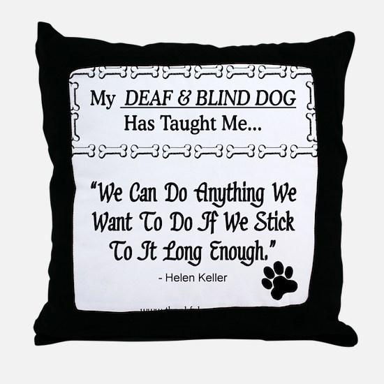 Do Anything Throw Pillow