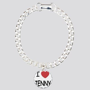 I heart JENNY Charm Bracelet, One Charm