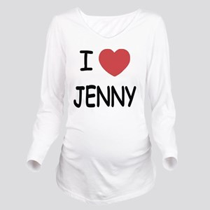 I heart JENNY Long Sleeve Maternity T-Shirt