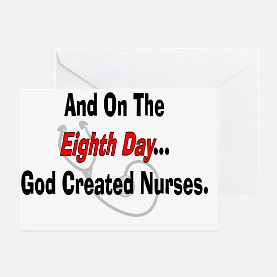 And on the eigth NURSES Greeting Card