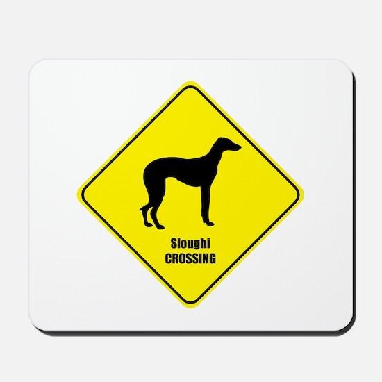 Sloughi Crossing Mousepad