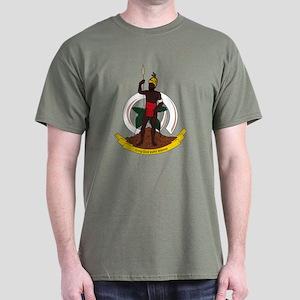Vanuatu Coat of Arms Dark T-Shirt
