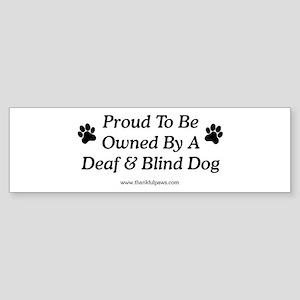Proud Owner Bumper Sticker