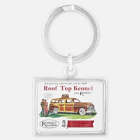 Roof_merch Landscape Keychain