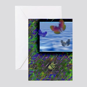 Butterfly 2 Greeting Cards (Pk of 10)