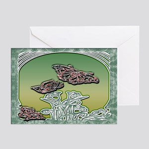 Butterfly 3 Greeting Cards (Pk of 10)