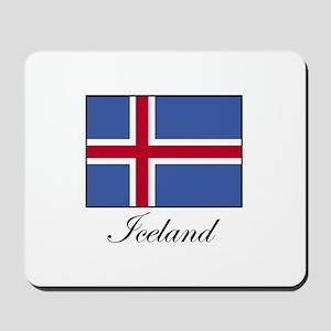 Iceland - Icelandic Flag Mousepad