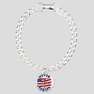 Never Forget Charm Bracelet, One Charm