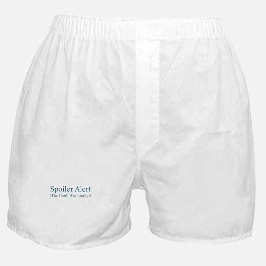 Spoiler Alert - Tomb Empty Boxer Shorts