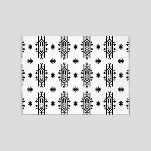 Indian USA Native American geometri 5'x7'Area Rug