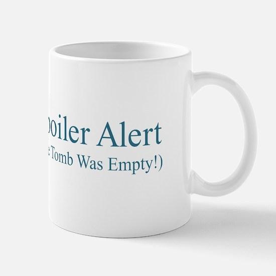 Spoiler Alert - Tomb Empty Mugs