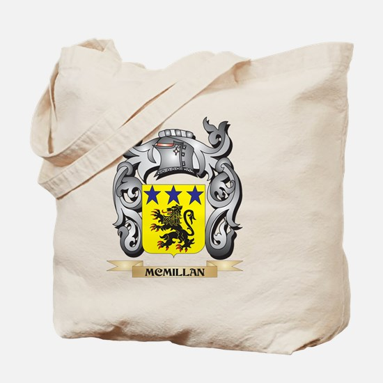 Mcmillan Coat of Arms - Family Crest Tote Bag