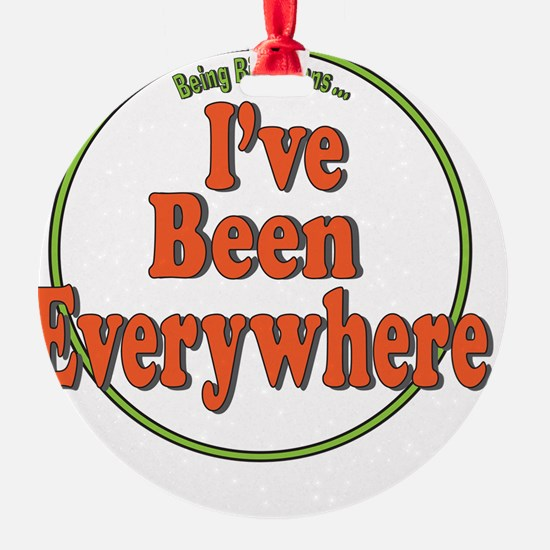 Been Everywhere Ornament