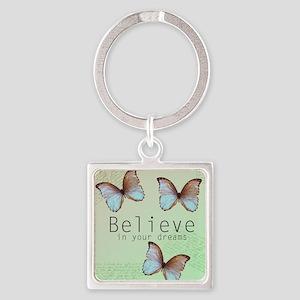 Believe Butterflies Keychains