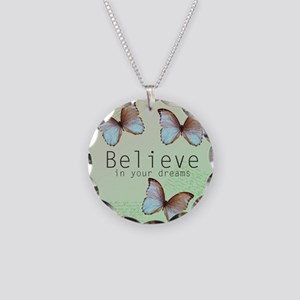 Believe Butterflies Necklace