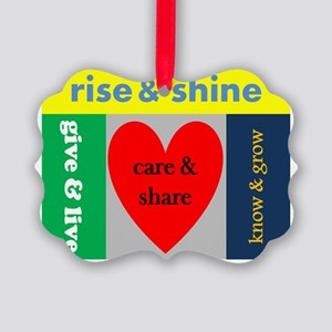 careshare Picture Ornament