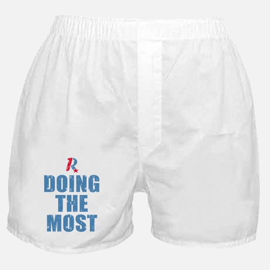 Romney Doing The Most Boxer Shorts
