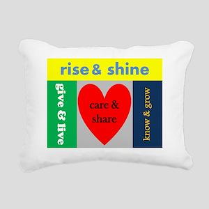 careshare Rectangular Canvas Pillow