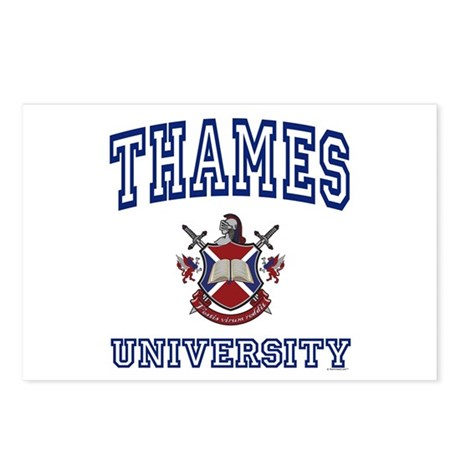 THAMES University Postcards (Package of 8)
