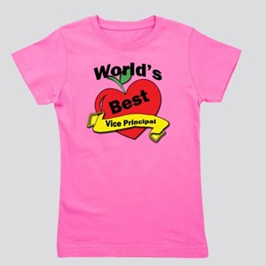 Worlds Best Vice Principal Girl's Tee