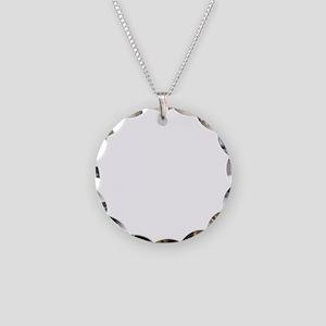 baconCrazyy1B Necklace Circle Charm