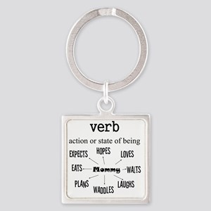 Verb Maternity Square Keychain