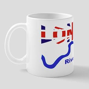 London River Thames Union Jack Flag Mug
