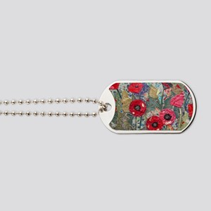 Poppy Fields Dog Tags