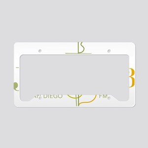 Transparent Logo License Plate Holder