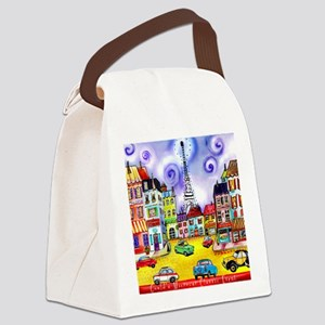 Goulds 17th Microcar Classic Even Canvas Lunch Bag