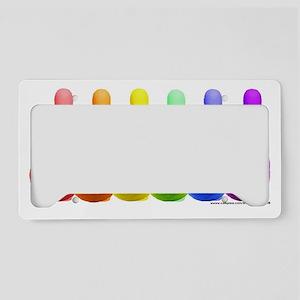 Rainbowling License Plate Holder