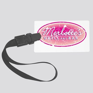 Merlottes Grill and Bar Large Luggage Tag