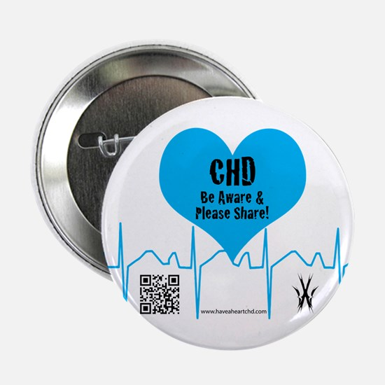"CHD Heartbeat 2.25"" Button (10 pack)"