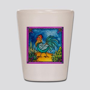 Rooster 2 Shot Glass