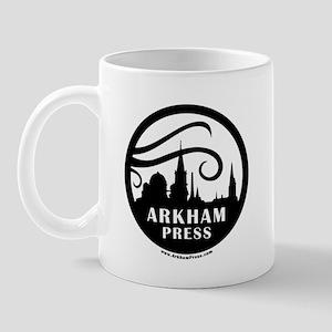 Arkham Press Round Logo Mug