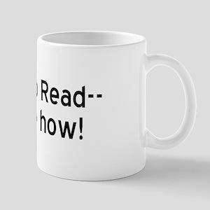 Learn To Read Mug