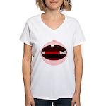 An Inconvenient Tooth Women's V-Neck T-Shirt