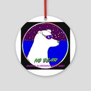 NO FEAR BEAR Ornament (Round)