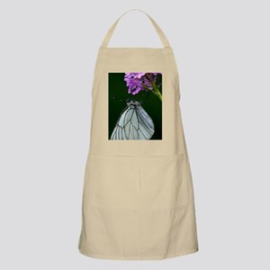 Black-veined white butterfly Apron