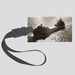 uss vernon county large framed p Large Luggage Tag